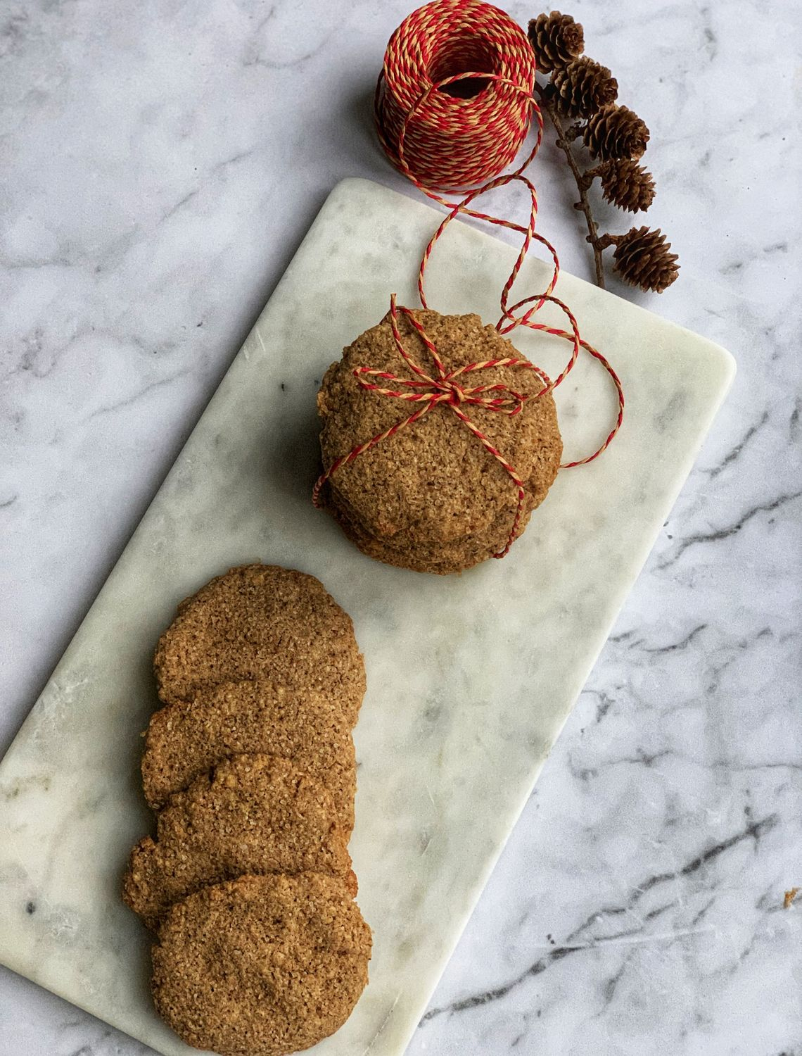 Glutenfrie pepperkake cookies