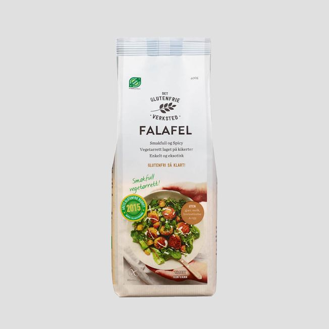 Falafel miks Spicy. Kjøp 3 for kr 75,-